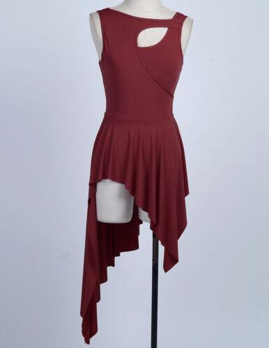 Women Adult Ballet Dress Tutu Stage Skirt Dance Dress Leotard Dancewear Costume