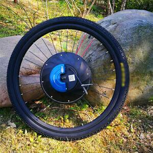 26'' 36V Electric Intelligent Bicycle Bike Front Wheel E-bike Conversion Kit