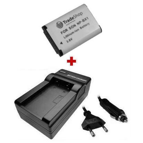 CARGADOR para Sony CyberShot dsc-rx100 reemplaza np-bx1 npbx1 Batería