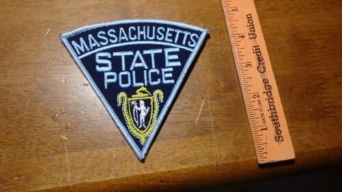 MASSACHUSETTS STATE POLICE MASS HIGHWAY PATROL    OBSOLETE PATCH   BX B 21