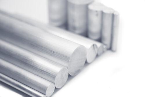 """1//2/"""" Diameter 6061 Aluminum Round Rod 2/"""" Length T6511 Extruded 0.5 inch Dia"""