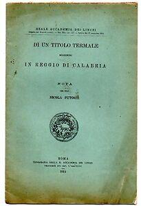 Nicola-Putorti-Di-un-titolo-termale-scoperto-in-Reggio-di-Calabria-Lincei-1913