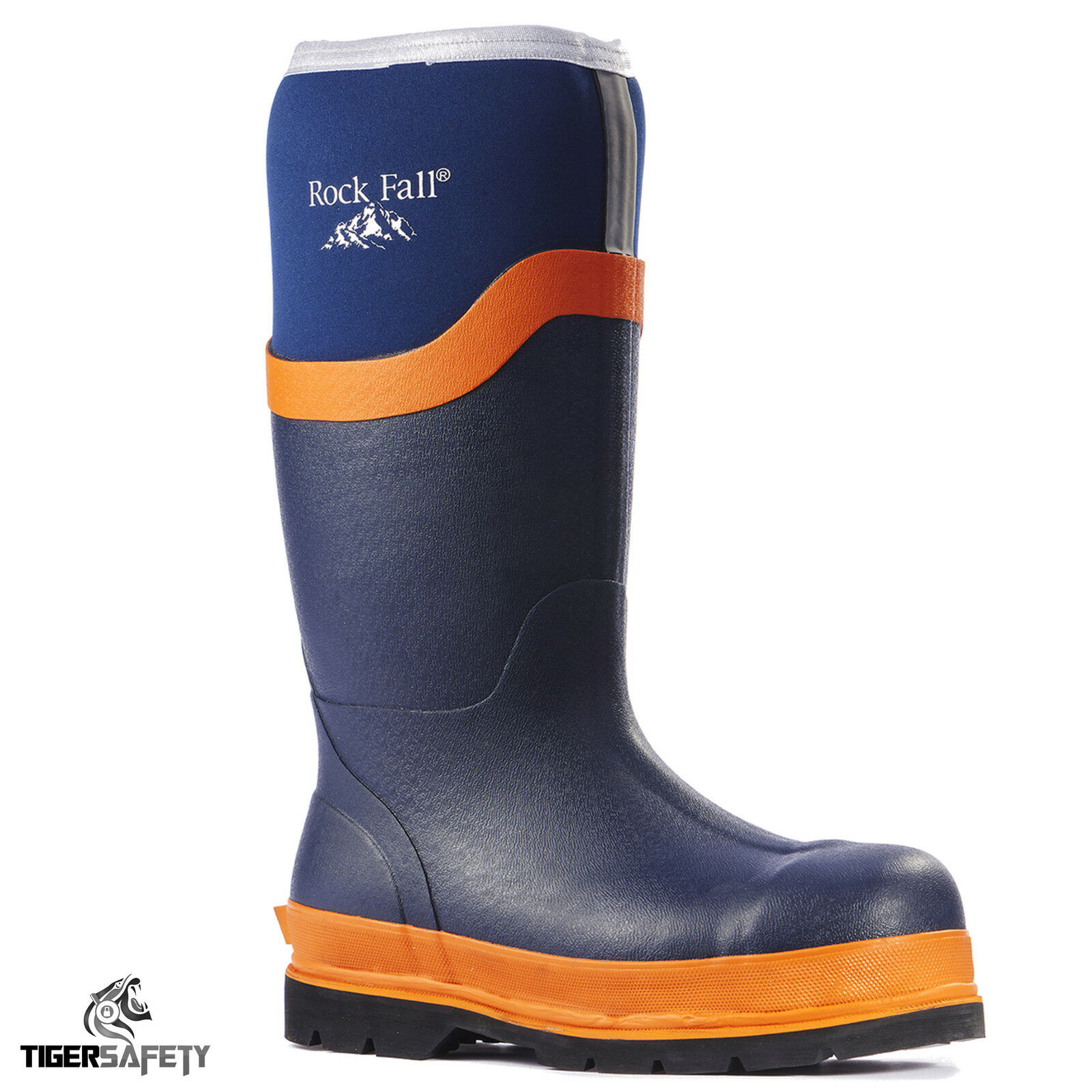 Rock Fall S5 Limo RF290 Blu Navy S5 Fall Neoprene isolato di sicurezza Stivali in PPE daf768