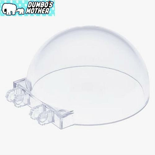 LEGO 6 x 6 x 3 Trans Clear Canopy Windscreen Glass Windshield with Hinges NEW