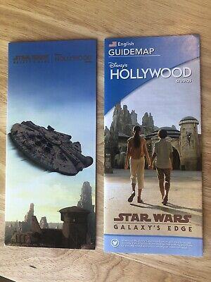 2019 Disney's Hollywood Studio Star Wars Galaxy Edge Opening Day Park Map