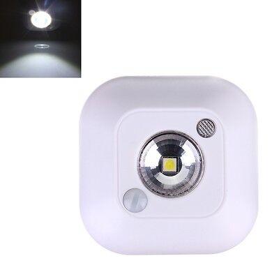 1 LED Mini Infrared Motion Sensor Ceiling Night Light Battery Powered Porch Lamp
