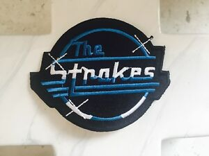 The-Strokes-Indie-Rock-Post-Punk-Revival-Music-Embroidered-Iron-On-Patches-Patch
