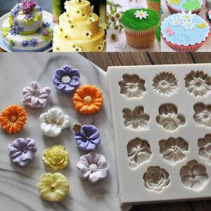 11-Mini-Flower-Silicone-Fondant-Mold-Cake-Decorating-Chocolate-Sugarcraft-Mold