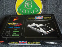 Lotus Esprit Plastic Kit Nichimo Mint Boxed 1:24