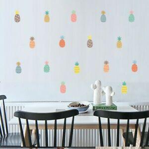 New-Vinyl-Pineapple-Wall-Sticker-Removable-Kids-Room-Art-Decals-Home-Decor-Mural