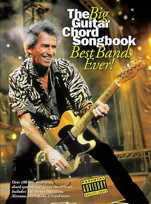 1 of 1 - The Big Guitar Chord Songbook: Best Bands Ever! - Over 100 Hits!