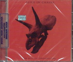 alice in chains the devil put dinosaurs here sealed cd new 2013 5099994780024 ebay. Black Bedroom Furniture Sets. Home Design Ideas