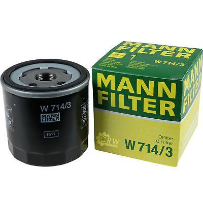 Mann Filter W 714//3 Filtro de Aceite