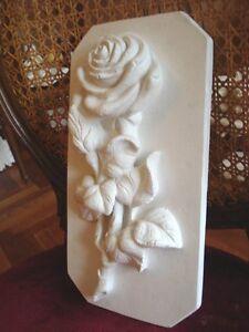 Stucco-Motivplatte-101-240-Traumhaft-schoene-Rose-aus-Stuck-18x34-cm
