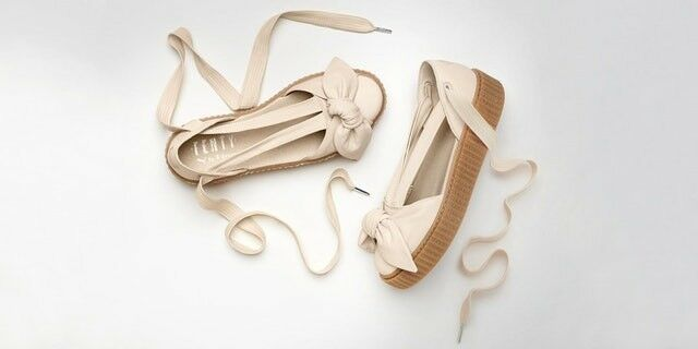 PUMA FENTY BY RIHANNA Dimensione Dimensione Dimensione 7.5 donna scarpe BOW CREEPER SANDALS blush 68a1ad
