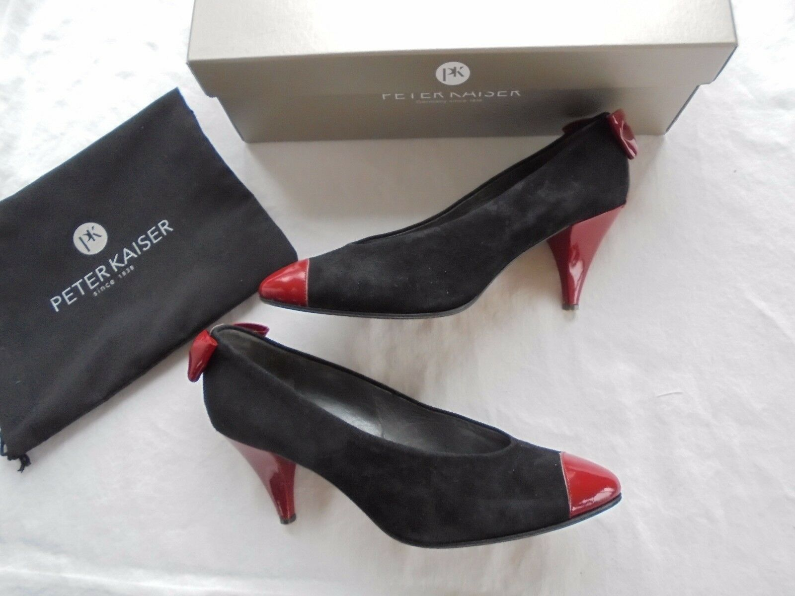 Original Peter Kaiser Leder Pumps High NP:  w NEU High Pumps Heels Schuhe 36 36,5 37 27df05