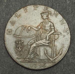 1793-Great-Britain-Norfolk-Norwich-Copper-034-Robert-Campin-034-Token-Coin-VF