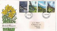 STAMPS. ROYAL MAIL FDC – BRITISH FLOWERS – 21st Mar 1979