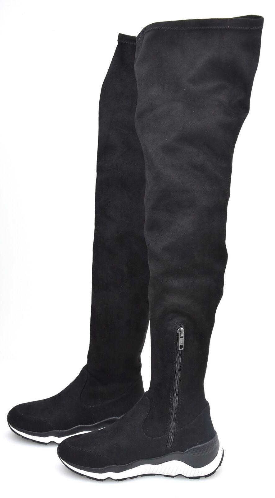 Ash Mujer Invierno botas altas rodilla sobre la rodilla altas Gamuza milagro de código FW16-S-114979-009 cd1c17