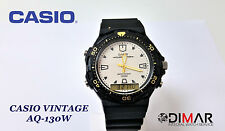 CASIO VINTAGE AQ-130W ILLUMINATOR WR.100 QW.1320 ANALOGICO/DIGITALE Ø.44mm SFERA