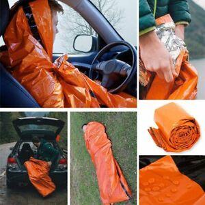 Emergency Sleeping Bag Thermal Waterproof For Outdoor Survival Camping Hiking//US