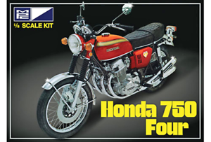 Honda 750 Four Motorcycle 1 8 Scale MPC Detailed Plastic Bike Kit