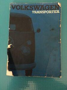 VW-Volkswagen-Transporter-Owner-039-s-Owners-Instruction-Manual-1960-1964-OEM