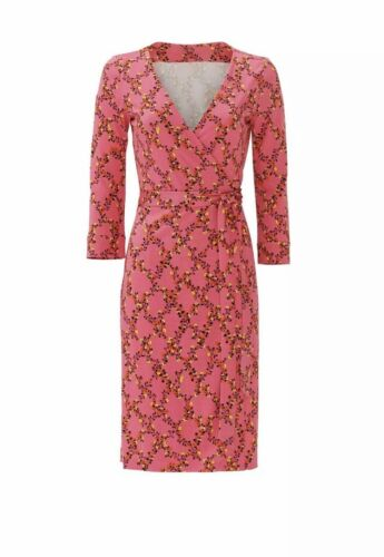 Super Sexy Pink DVF Wrap Dress
