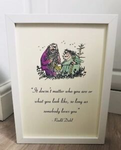 The-Twits-Roald-Dahl-Vintage-Style-Quote-Art-Print-Unframed-Gift-Nursery