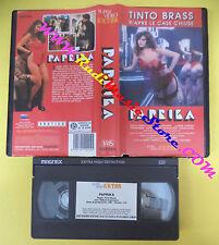 VHS film PAPRIKA 1991 Tinto Brass Debora Caprioglio SUPER VIDEO (F130) no dvd*