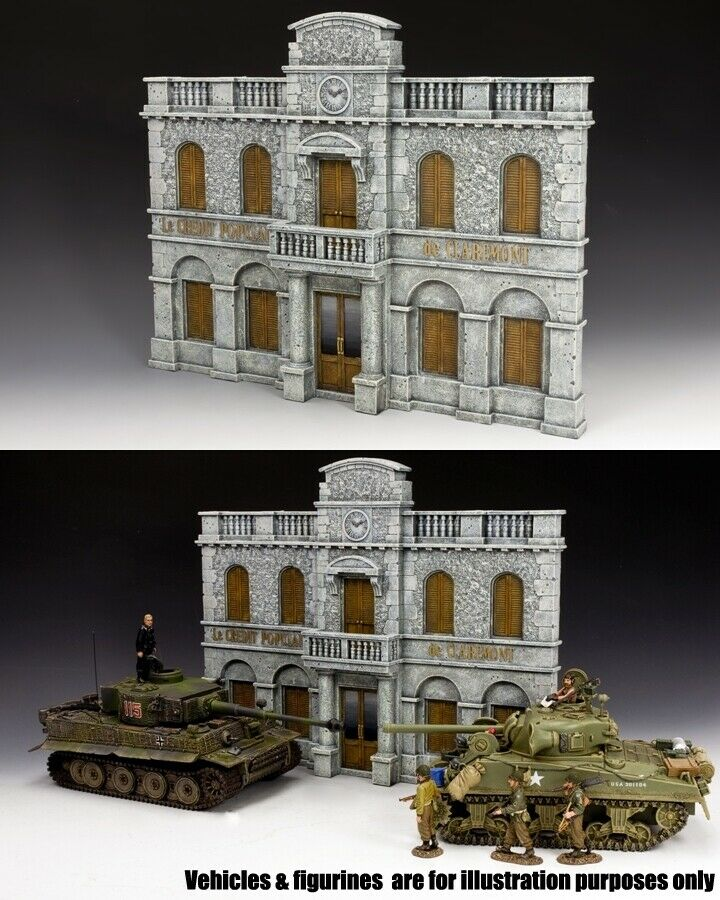 King & Land Diorama Sp068 Bank Of Heroes MIB