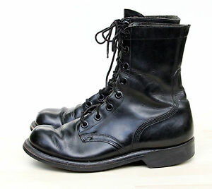 Vintage VIETNAM NAM War Era Military Combat Boots Dated 1966 Mens ...