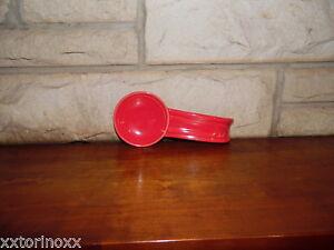 Fiesta-Spoon-Rest-in-Scarlet-NEW-Never-Used-Fiestaware