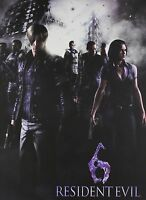 Resident Evil 6 Limited Hardcover Ed. Brady Games Strategy Guide With 3 Patches