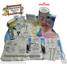 WARWICK DELUXE KIT whelping con ROYAL CANIN CANE PUPPY LATTE & Bottiglia Casella Set