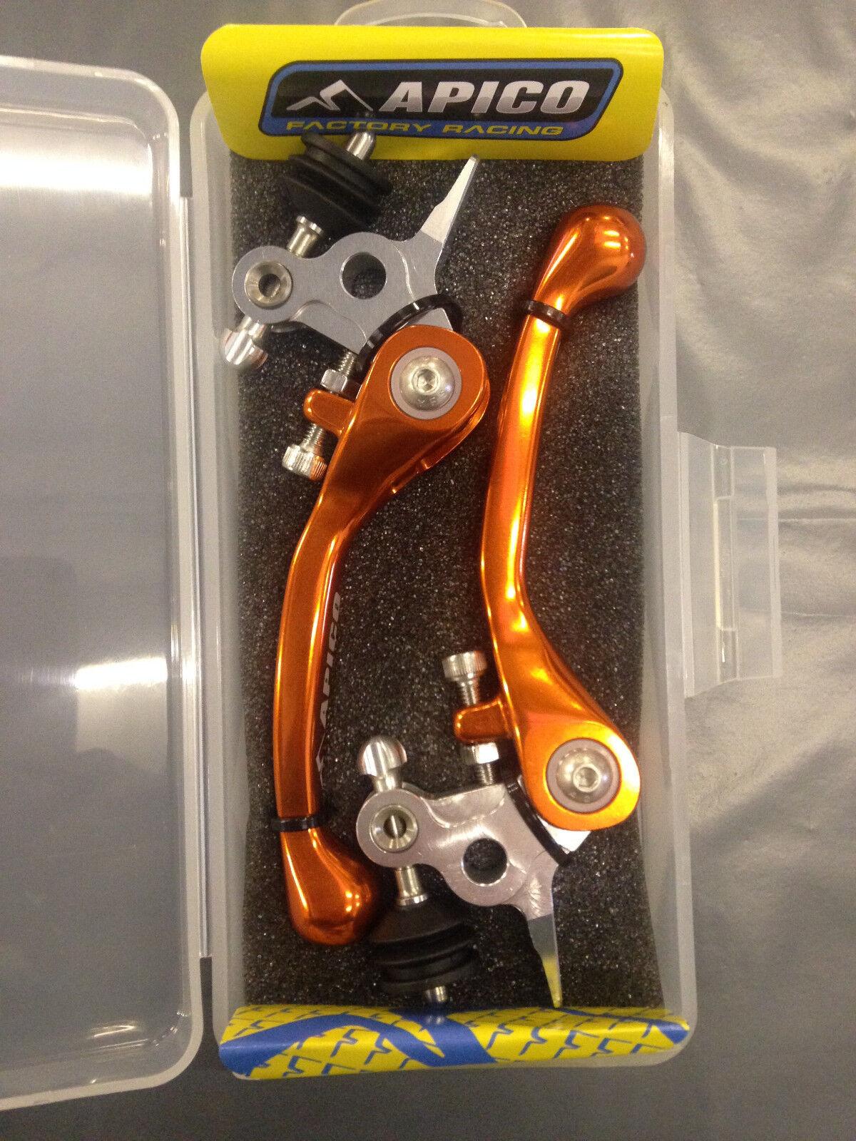 Flex Flexibel Hebel Hebel Satz Passend für KTM Sx85 SX SX SX 85 2014 -2019 Orange    Moderner Modus  54b7c6