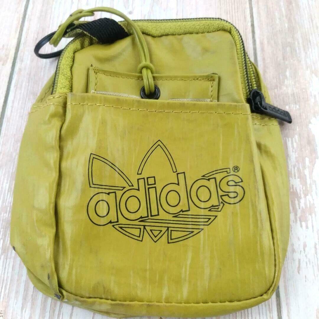 Adidas Sport Soft Belt Clip Case Shoulder Bag Case Member ID Card Holder Khaki