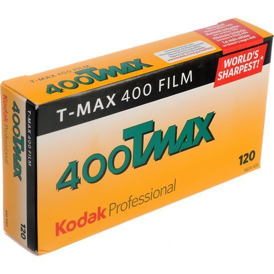 Kodak Professional T-Max 400 120 5 Films Mhd / Epiry Date 11/2019