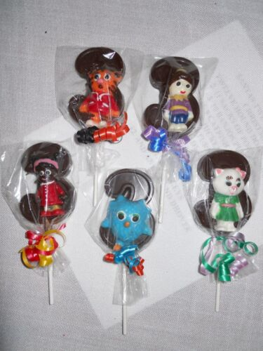 12 Daniel Tiger 3rd Birthday Party Favors Gourmet chocolate Lollipops