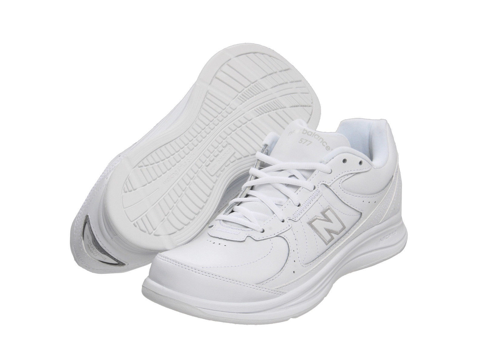 Uomo New Balance MW577WT Walking Extra Wide 4E White 100% Authentic Brand New