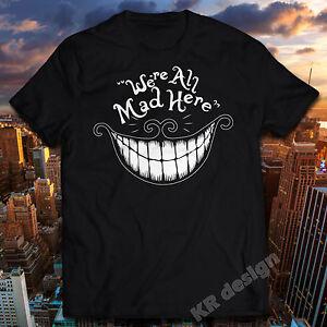 Disney Femme Alice in Wonderland Mono Cheshire Cat T-Shirt