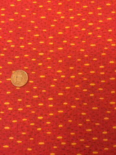 Arte Popular Clásico 1170 Rojo Fabri-Quilt 100/% algodón Quilting fabric manchas
