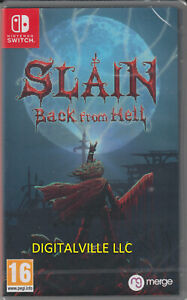 Slain Back from Hell Nintendo Switch Brand New Factory Sealed