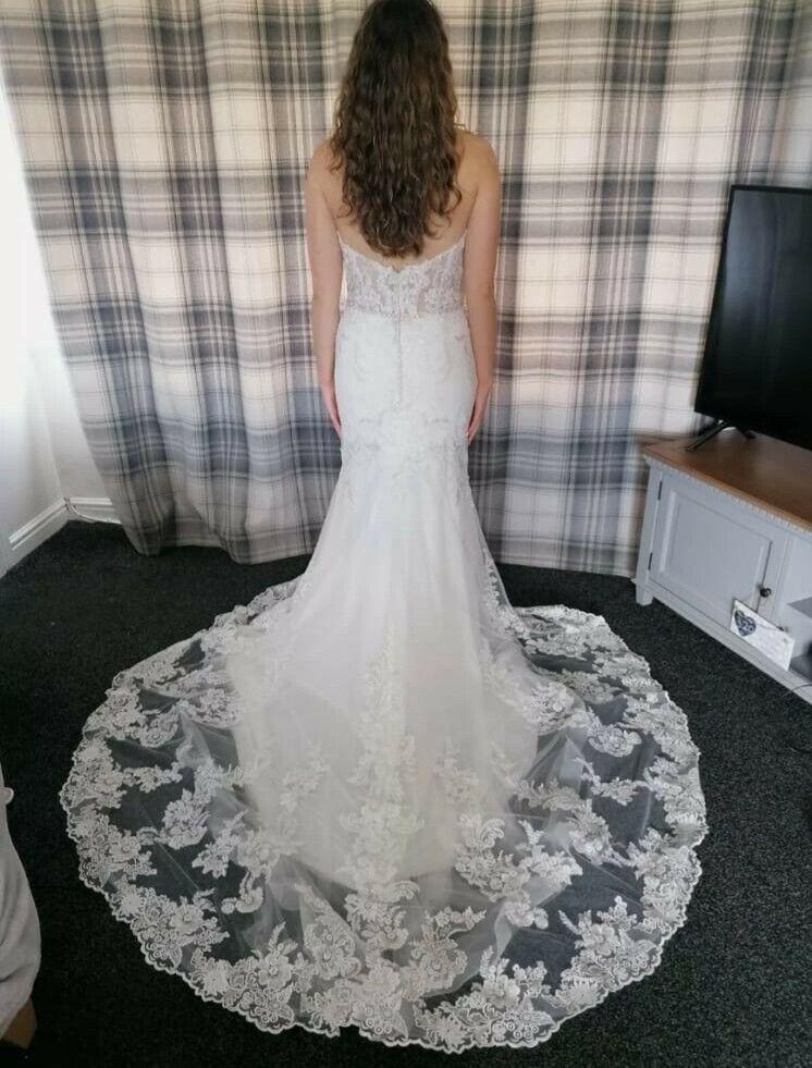 Lisette Wedding Gown Dress By Morilee