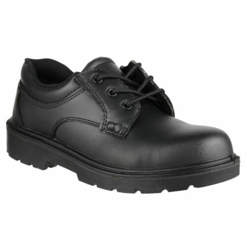 S1 Fs38c Amblers Cuir Noir Chaussures Safety aqCgXnO