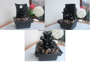 Image Is Loading Indoor Battery Operated Table Top Stone Effect Water