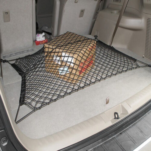Trunk Car SUV Rear Portable Boot Organizer Storage Carrier Mesh Net Holder