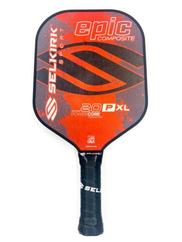 Selkirk Sport Pickleball Paddle Epic 20P XL Composite Polymer Red New
