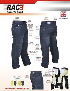 Original-RAC3-Mens-Motorbike-Protective-Armoured-Lining-Denim-Jeans-Trousers