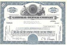 GARDNER-DENVER COMPANY.......1971 STOCK CERTIFICATE